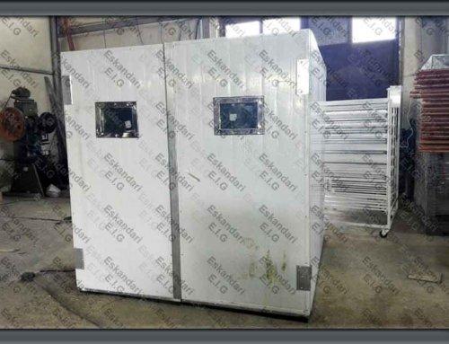 طراحی و تولید دستگاه جوجه کشی ۴۰٫۰۰۰ عددی