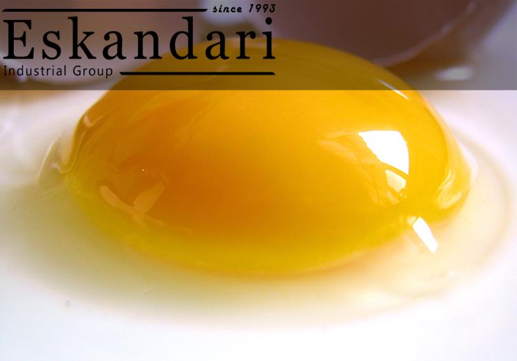 شالاژ و ترکیبات زرده تخم مرغ