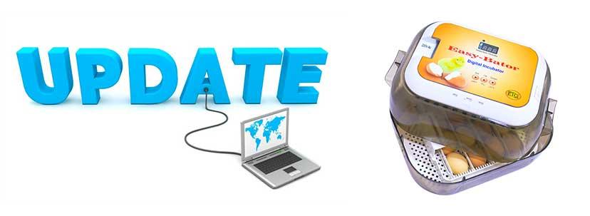 بروزرسانی نرم افزاری دستگاه جوجه کشی