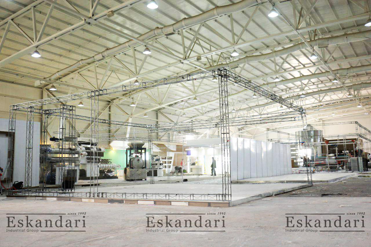 گروه صنعتی اسکندری در نمایشگاه تهران