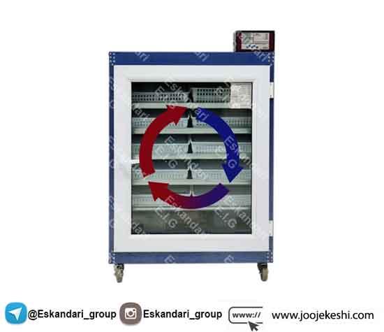 جریان هوا در دستگاه جوجه کشی - جوجه کشی دات کام