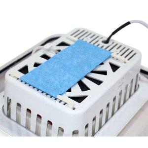 پد سلولوزی و فن دائم کار در دستگاه جوجه کشی 40 تایی