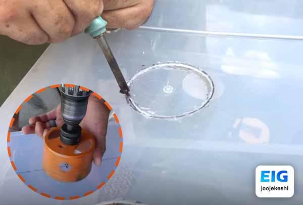 درست کردن دانخوری سطلی برای طیور و مرغ